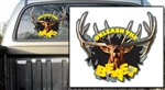 Unleashed Elk Decal