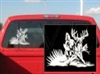 Breaking Cover Deer Decal