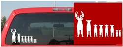 A Deer Family Deer Decal!