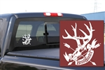 HH Buck Skull Decal