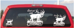 Elk Hunt Em with Mathews Archery Decal