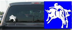 Bareback Bronco Decal