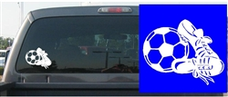 Soccer Ball & Shoes Decal