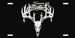 Team Mathews Archery License Plate