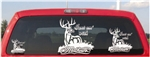 Whitetail Hunt Em with Mathews Archery Decal