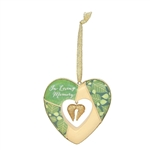 In Loving Memory Heart Ornament