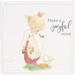 Make A Joyful Noise - Precious Moments Ceramic Plaque