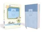 NIV Baby Gift Bible: Keepsake Edition - Blue