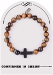 Boy Confirmation Stretch Bracelet