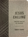 Jesus Calling: Enjoying Peace in His Presence - Textured Gray