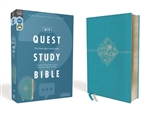 NIV Quest Study Bible: The Only Q and A Study Bible - Teal