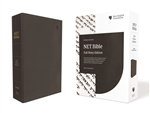 NET Bible, Full-notes Edition - Black, Comfort Print
