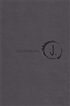 NLT Jesus-Centered Bible - Charcoal