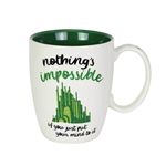 Nothing's Impossible Wizard of Oz Mug