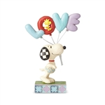 "Peanuts - ""Love is in the Air"" Snoopy with Balloon Figurine"