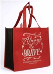 Always Be Brave - Nylon Tote Bag