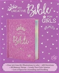 ESV My Creative Bible for Girls - Purple Glitter