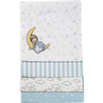 Precious Moments Receiving Blanket Set in Blue