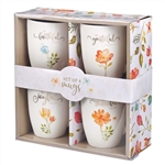 Grateful Mug Set of 4