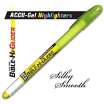 Yellow Accu-Gel Bible Highlighter