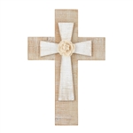 Layered Cross with Flower