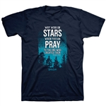 Stars in the Sky Adult T-Shirt Small