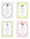 Cute & Cuddly New Baby Boxed Cards