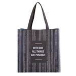 All Things are Possible Tote