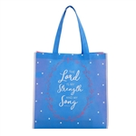 Lord is my Strength Tote