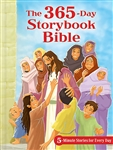 The 365-Day Storybook Bible: 5-Minute Stories for Every Day (Padded)