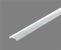 Extra lens for aluminum extrusion, housing, profile E for bright LED Strip and LED Strip lighting. Available in clear or frosted finishing.