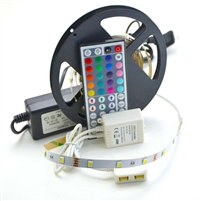 LED RGB KIT 5050 30/M 24FT IP23