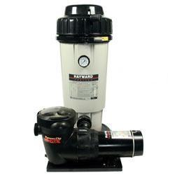 Hayward Perflex De Filter System W 1 Hp Matrix Pump Mfr