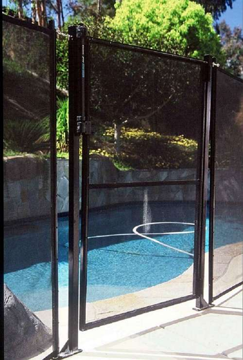 Gli Protect A Pool Inground Removable Safety Fence Gate