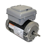 3 HP Full Rate Two Speed Motor W/ Timer Round Flange - B966T