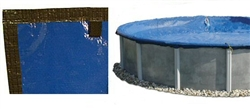 *BEST* EASTERN LEISURE 12/3 Year Warranty Solid Winter Pool Cover for Above Ground Pools