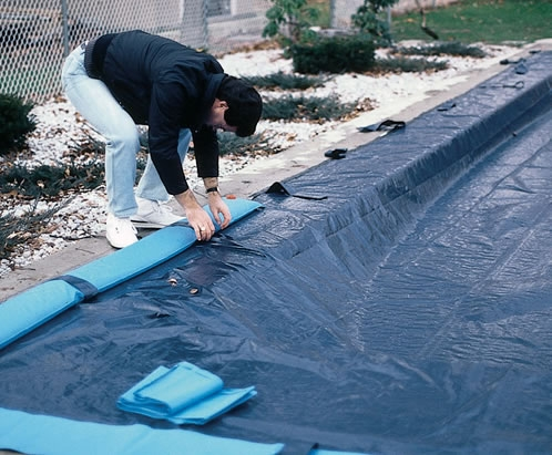 how to clean an above ground pool after winter