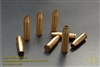 57 mm empty shell casings