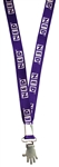 Purple NED Lanyard