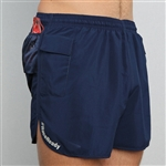 RaceReady Active Mens V-Notch Running Shorts with Pockets