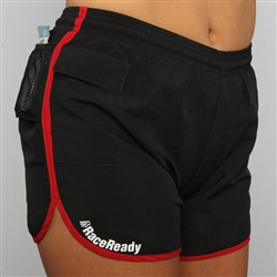 RaceReady Active Womens V-Notch Running Shorts with Pockets