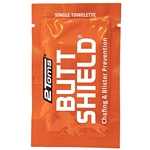 2Toms BUTTSHIELD Running Chafing Prevention Single-Use Wipe
