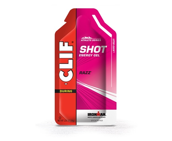 Clif Shot Energy Gels : RAZZ ( Raspberry )