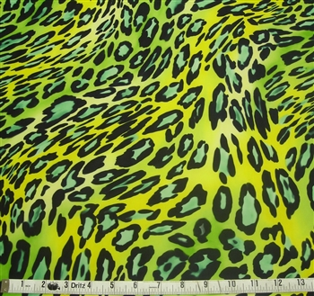 Dirty Girl Gaiters : LEOPARD GONE WRONG LIME