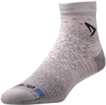 Drymax Thin Cushion Running Socks - 1/4 Crew