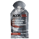 Accel Gel 4:1 Protein Energy Gels : CHOCOLATE