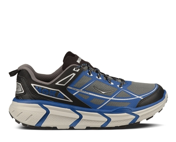 Mens Hoka CHALLENGER ATR Trail Running Shoes - Black / True Blue