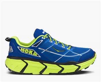 Mens Hoka CHALLENGER ATR Trail Running Shoes - True Blue / Citrus