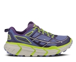 Womens Hoka CHALLENGER ATR Trail Running Shoes - Corsican Blue / Acid