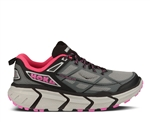 Womens Hoka CHALLENGER ATR Trail Running Shoes - Grey / Fushia